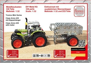 MINI SERIES-Claas Arion 430+Anh. 1:32 | Dodax.co.uk