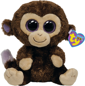 Ty - Beanie Boo Plush Toy Monkey Coconut (36003) | Dodax.it