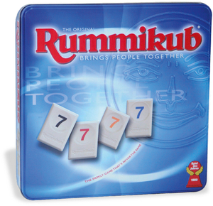 Original Rummikub (Spiel), in Metalldose | Dodax.at