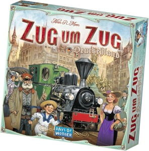 Image of Days of Wonder - Zug um Zug Deutschland (851761)