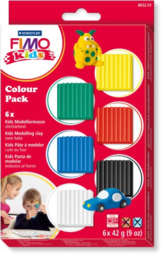 FIMO kids Colour Pack - basic 6x42g | Dodax.at