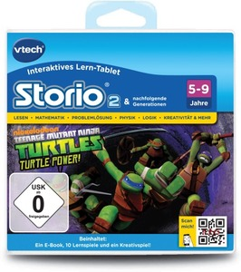 Teenage Mutant Ninja Turtles, Storio 2 Lernspiel | Dodax.at