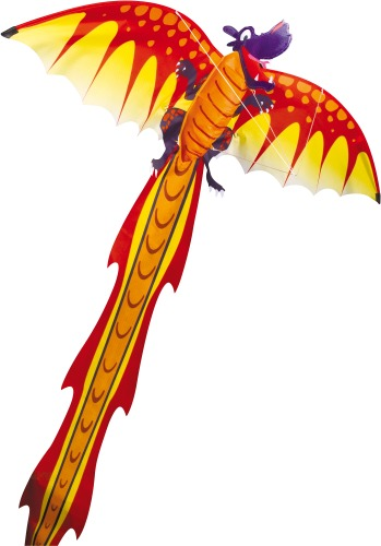 Einleinerdrachen Dragon 3D 102x320cm | Dodax.at