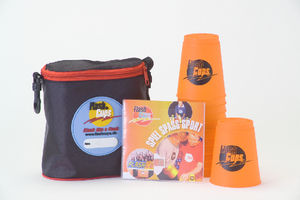 FlashCups orange, mit DVD | Dodax.de