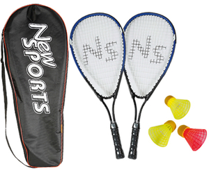 NSP Speedbadminton Set in Tasche | Dodax.ch