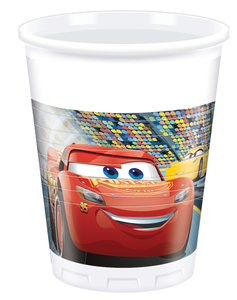 8 Becher 200ml Cars 3 | Dodax.ch