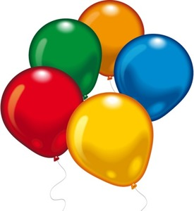 Image of Ballons rund 10St. Umfang 90-100cm