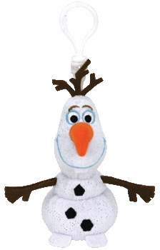 Image of FRO Clip on Olaf mit Sound 8,5cm