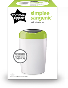 Simplee Sangenic Windeleimer apple green | Dodax.es