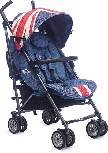 Buggy MINI by Easywalker Union Jack Vint | Dodax.ch