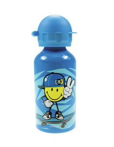 Smiley Junior Trinkflasche blau, 400 ml | Dodax.it