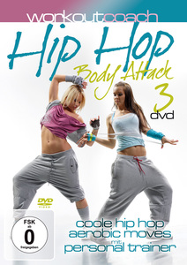 Hip Hop Body Attack, 3 DVDs | Dodax.at