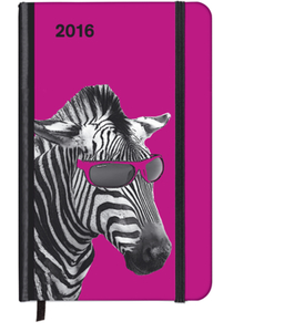 SoftTouch Diary Cool Zebra 2016 | Dodax.at