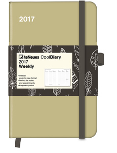 Cool Diary Sand/Feather White 2017 WEEKLY (9x14)   Dodax.ch