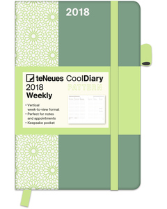 Cool Diary PATTERN/Mint 2018 | Dodax.de