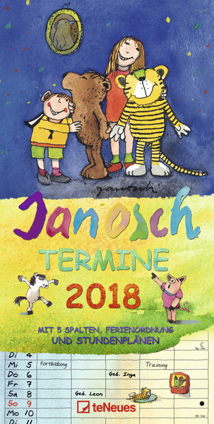 Janosch Termine 2018 | Dodax.at
