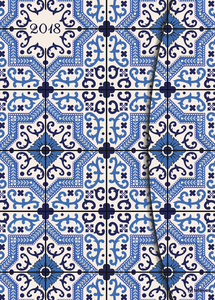 Azulejos 2018 Magneto Diary large | Dodax.ch