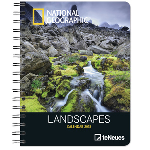 National Geographic Landscapes 2018 Diary | Dodax.at