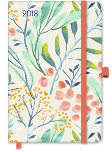 GreenLine Diary Floral 2018   Dodax.ch