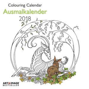 Ausmalkalender 2018 | Dodax.at