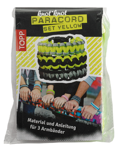 knot*knot Paracord Set Yellow | Dodax.pl