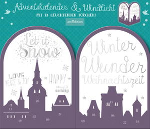 """Twinkle twinkle little star"", Adventskalender & Windlicht 