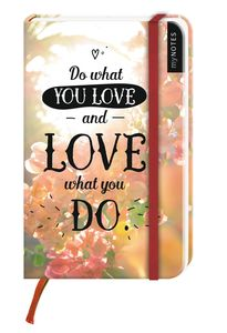 myNotes: Do What You Love and Love What You Do / Notizbuch klein / blanko | Dodax.ca