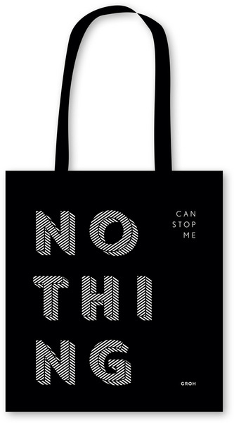 Stofftasche NOTHING can stop me | Dodax.fr