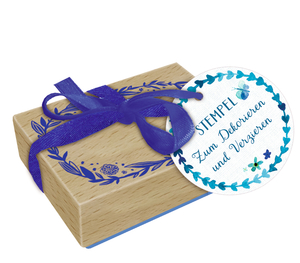 Holzstempel - All about blue | Dodax.at