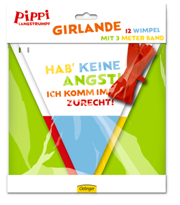 Pippi (Film) Girlande | Dodax.co.uk