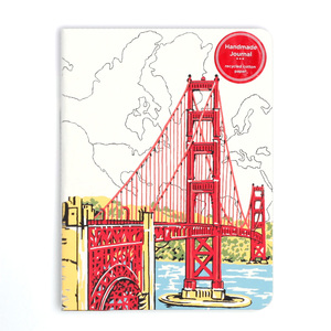 Notizbuch City - San Francisco | Dodax.nl