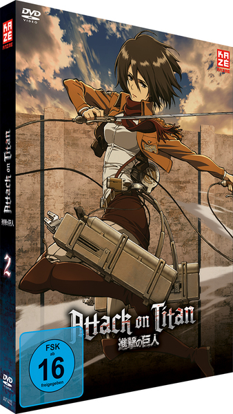 Attack on Titan - DVD 2 | Dodax.nl
