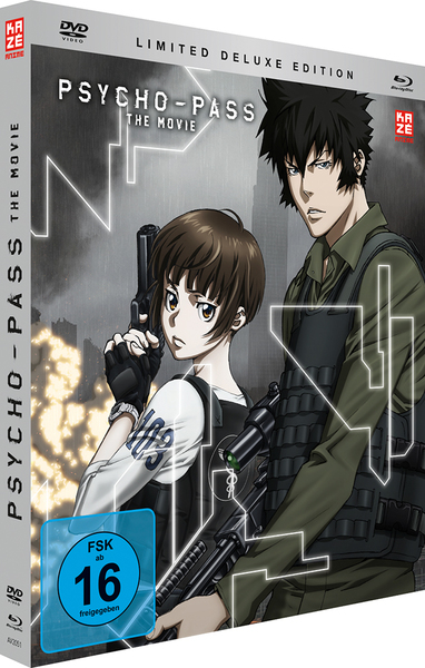 Psycho Pass Movie, 1 Blu-ray + 1 DVD (Limited Deluxe Edition)   Dodax.at