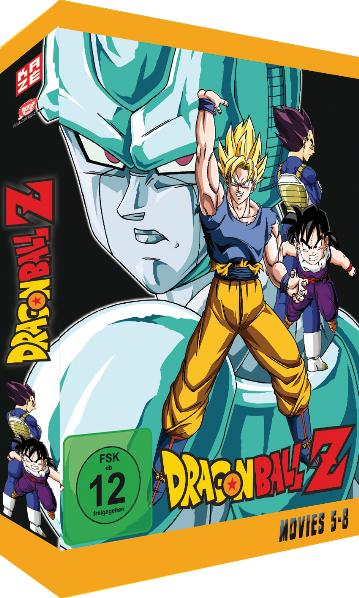 Dragonball Z - Movie Box 2, 4 DVDs | Dodax.de