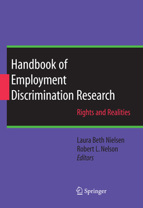Handbook of Employment Discrimination Research | Dodax.ch
