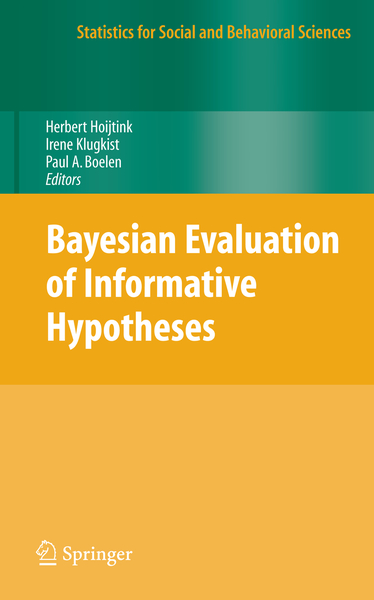 Bayesian Evaluation of Informative Hypotheses | Dodax.ch