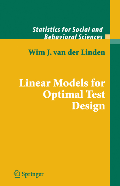 Linear Models for Optimal Test Design | Dodax.ch