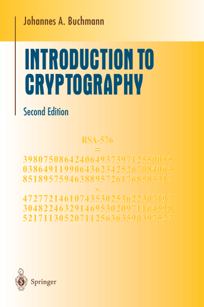 Introduction to Cryptography | Dodax.pl