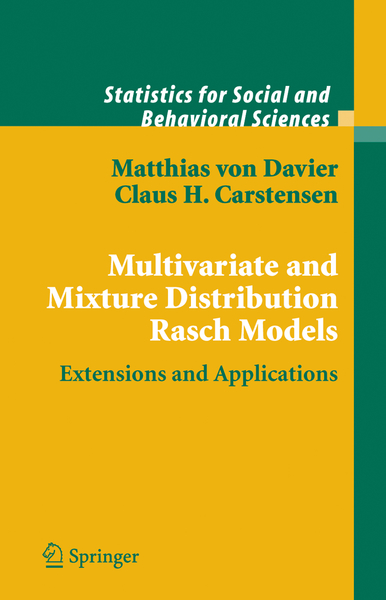 Multivariate and Mixture Distribution Rasch Models | Dodax.ch