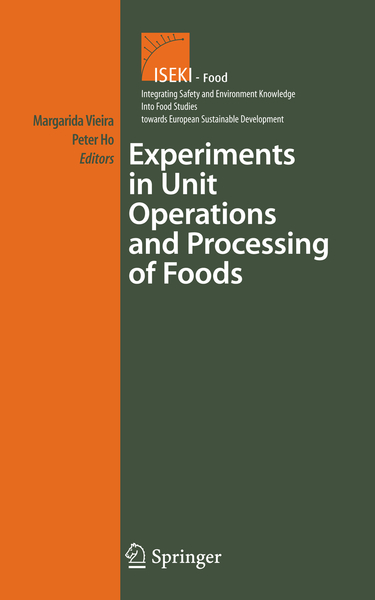 Experiments in Unit Operations and Processing of Foods   Dodax.ch