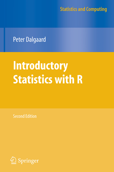 Introductory Statistics with R | Dodax.ch