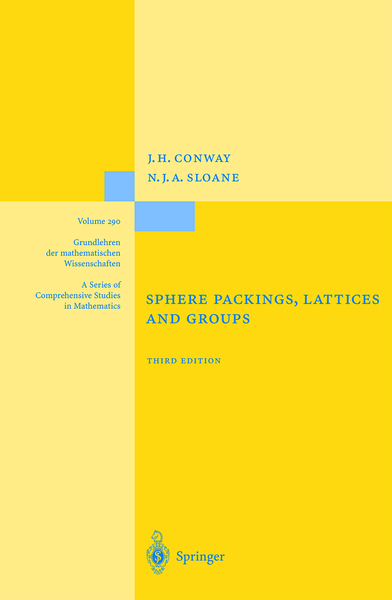 Sphere Packings, Lattices and Groups | Dodax.pl