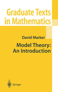 Model Theory : An Introduction | Dodax.pl