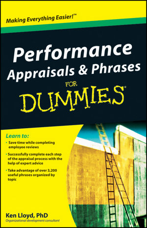 Performance Appraisals and Phrases For Dummies | Dodax.com