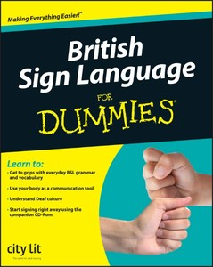 British Sign Language For Dummies | Dodax.at