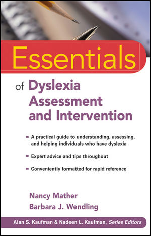 Essentials of Dyslexia Assessment and Intervention | Dodax.de