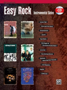 Easy Rock Instrumental Solos, Alt Sax, w. Audio-CD | Dodax.ch