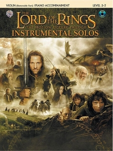 The Lord of the Rings, The Motion Picture Trilogy, w. Audio-CD, for Violin and Piano Accompaniment | Dodax.de
