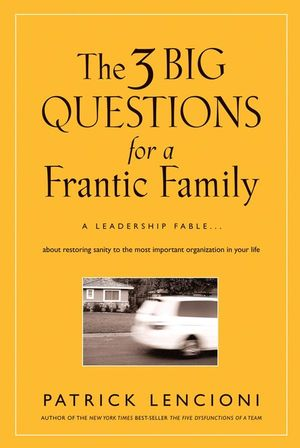 The Three Big Questions for a Frantic Family | Dodax.pl