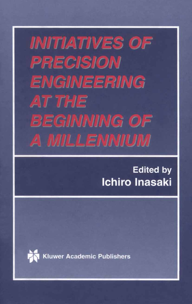 Initiatives of Precision Engineering at the Beginning of a Millennium   Dodax.ch